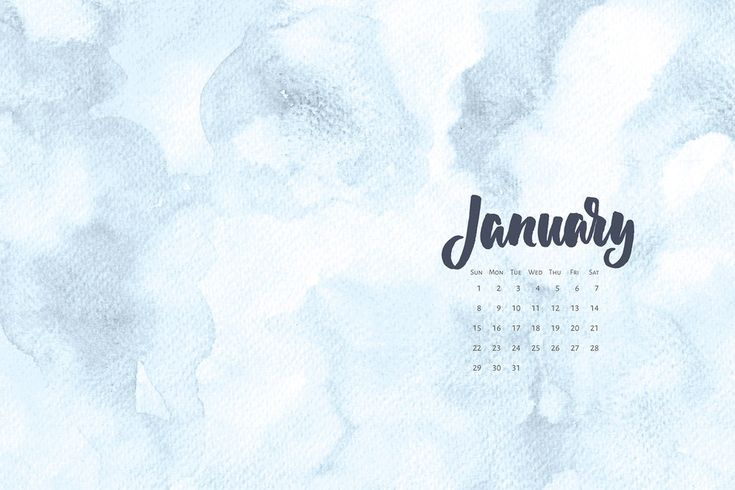 Free desktop calendar for January 2017. For personal use only |©typeandgraphicslab.com