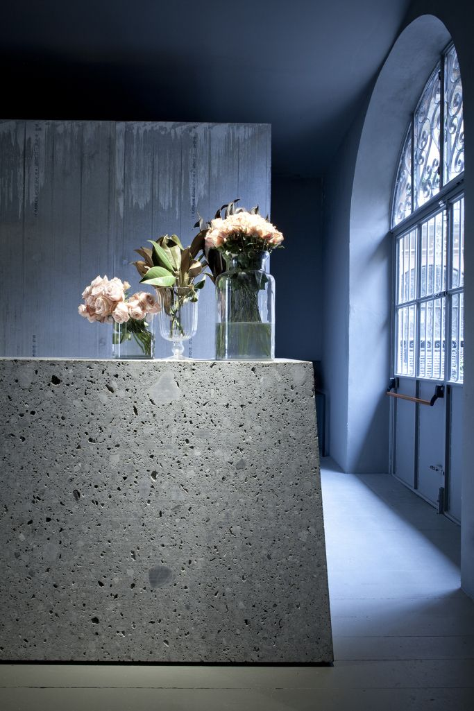 Visions of an Industrial Age // concrete counter
