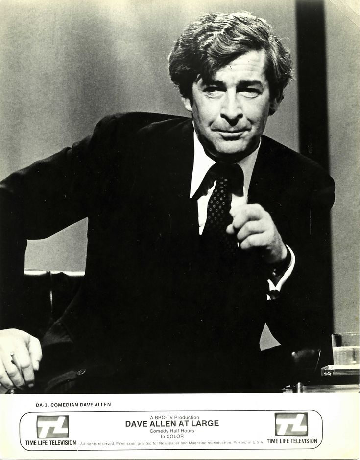 """Dave Allen. """"Goodnight and may your god go with you"""" ... genius"""