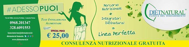 Buongiorno da Dietatural LAmezia, #consulenze nutrizionali gratuite, #Test intolleranze alimentari, Test dna , piani nutrizionali personalizzati