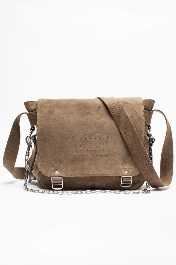658607fd72e9 Zadig & Voltaire Ready-Made Suede Bag | Designer Handbags | Bags ...