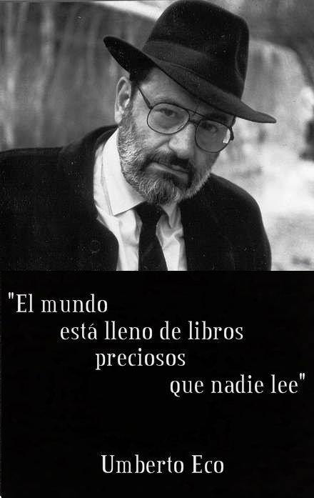 Libros... Umberto Eco.