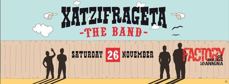Xatzifrageta full band @Factory of sound Ioannina (26/11)