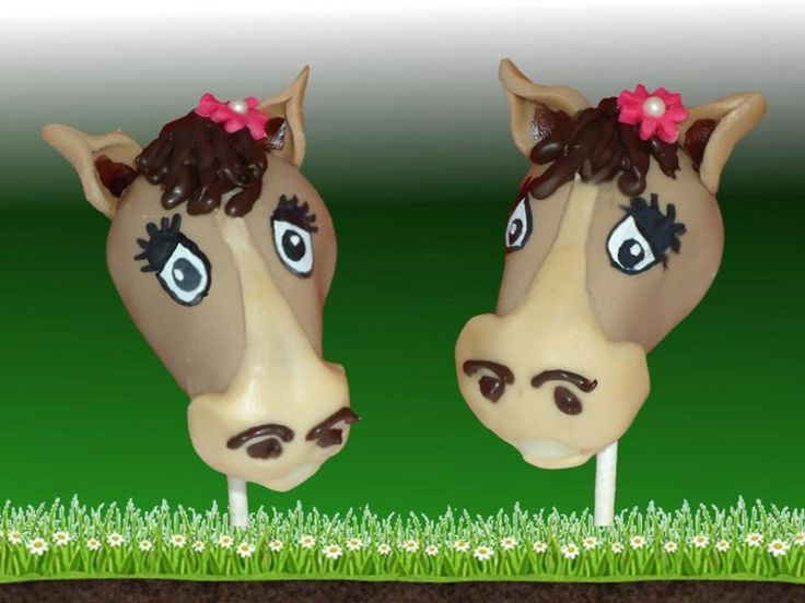 Horse Cake Popscake Pop Creations