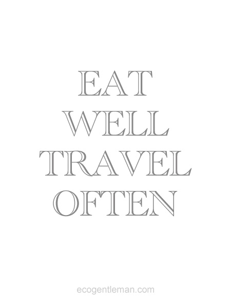 Eat Well, Travel Often. BelAfrique your personal travel planner - www.BelAfrique.com
