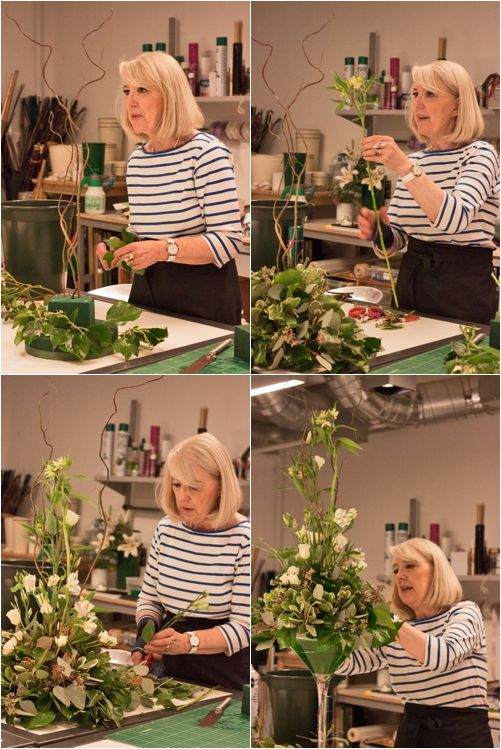 Advanced Four Day Bridal Flowers Course at the Covent Garden Academy of Flowers   Flowerona