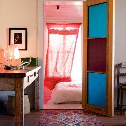 Liz Lambert designed bedroom from MArie Claire Maison