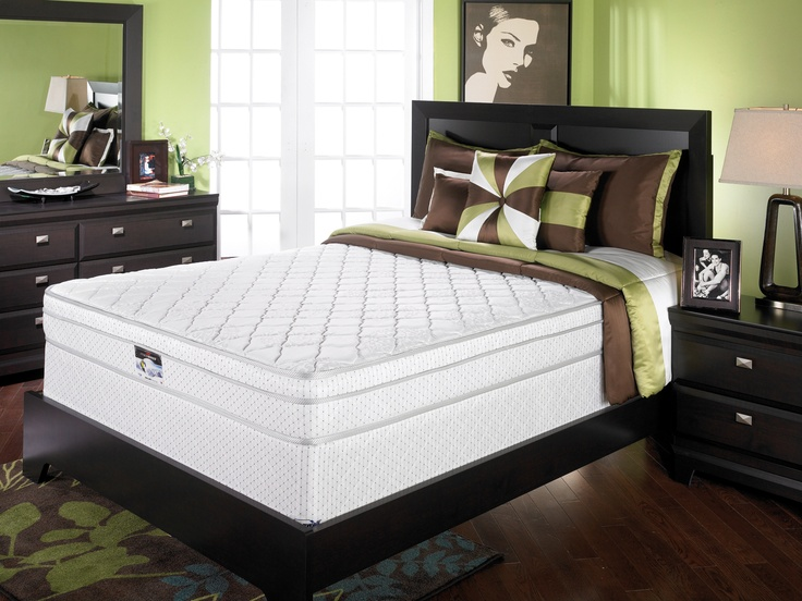 springwall dallas plush eurotop queen mattress and boxspring set