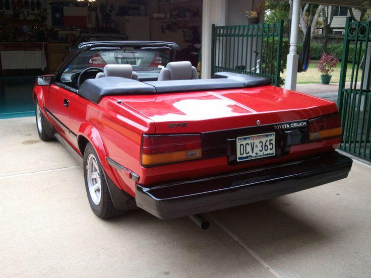 1984 Toyota Celice Convertible - 2