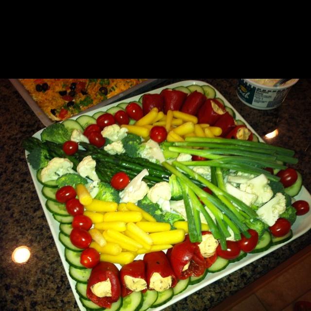 Awesome Veggie Tray Presentation!
