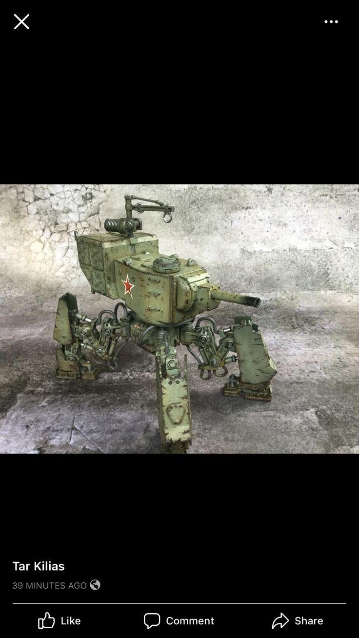 Pin by Денис Кораблев on Mecha war Dieselpunk vehicles