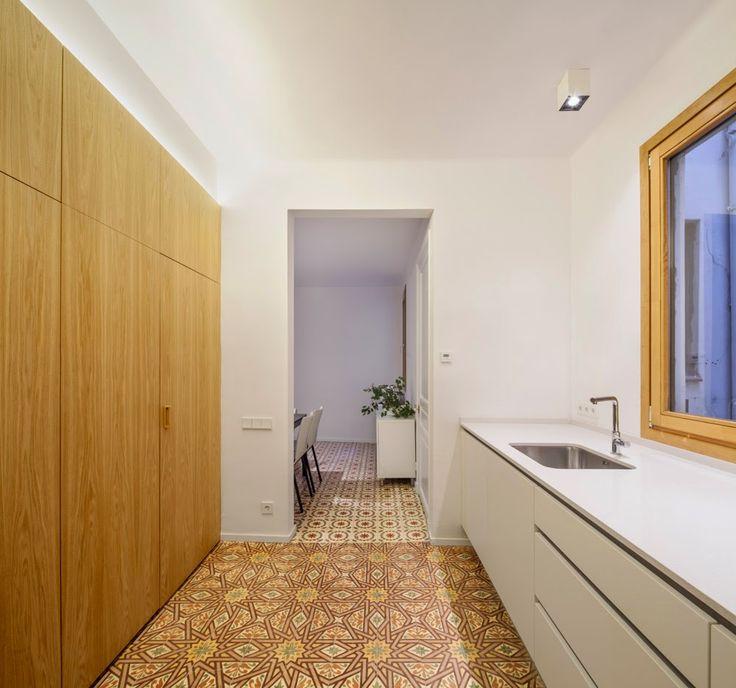 simplicity love: AL apartment, Spain | Alventosa Morell Arquitectes