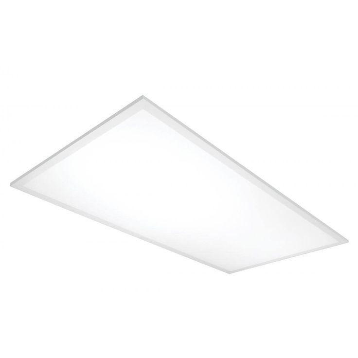 Nuvo Lighting 2ft X 4ft LED Flat Panel 48W (White) (Aluminum)