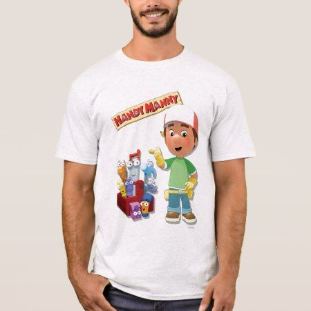 Handy Manny and his Talking Tools T-Shirt - tap, personalize, buy right now!