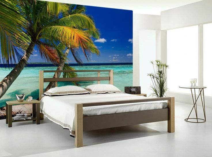 Tropical Wall Murals best 25+ beach wall murals ideas on pinterest | beach mural