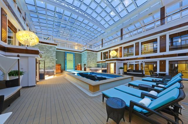 The Haven is an exclusive enclave on the Norwegian Escape cruise ship, with luxury suites, a bar, restaurant, and many special amenities for guests.