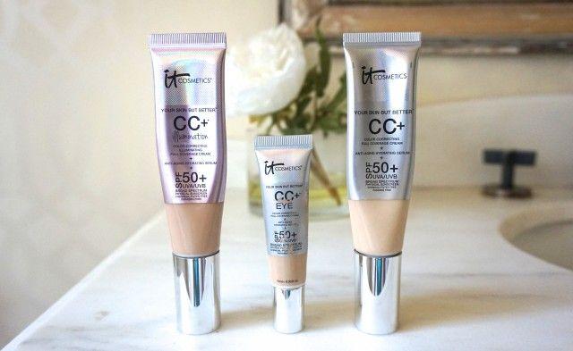 Beauty Now | It Cosmetics CC Cream Illumination Foundation vs. Original (& CC Eye!)