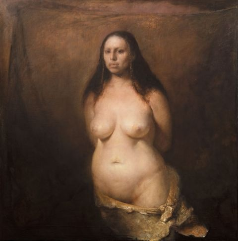 Nude amateur ebony woman