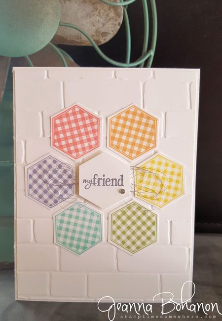 WCBH5-1 Six Sided Sampler Stampin' Up! Jeanna Bohanon stepped up