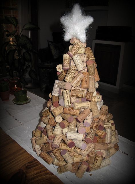 Trees of Christmas Facts with Corks