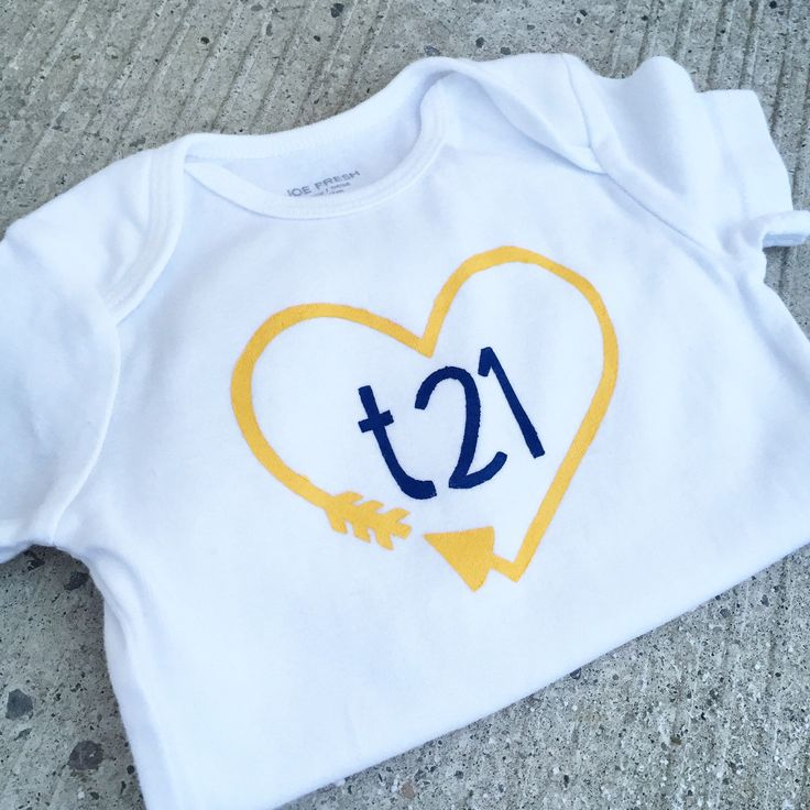 Down syndrome awareness onesies!! https://www.etsy.com/ca/listing/264506486/down-syndrome-awareness-onesies-baby