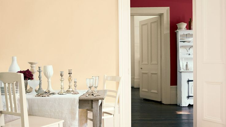 Dining Room Rooms Dulux Ruby Starlet And Ivory