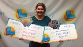 Teen wins lotto twice in one week totaling more than $650,000