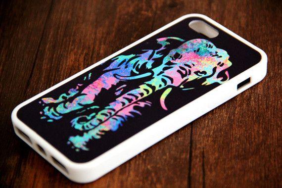 Abatract Elephant iPhone 6 Plus iPhone 6 iPhone 5S iPhone 5C iPhone 5 iPhone 4S/4 Rubber Case