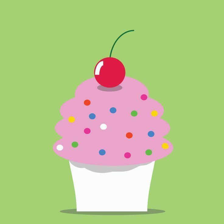 Cupcake illustration