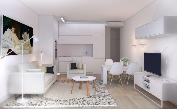 Particular Residence | Doris Solo | Tarragona | February 2014 #rendering #render #interior #decoraction #interiordesign