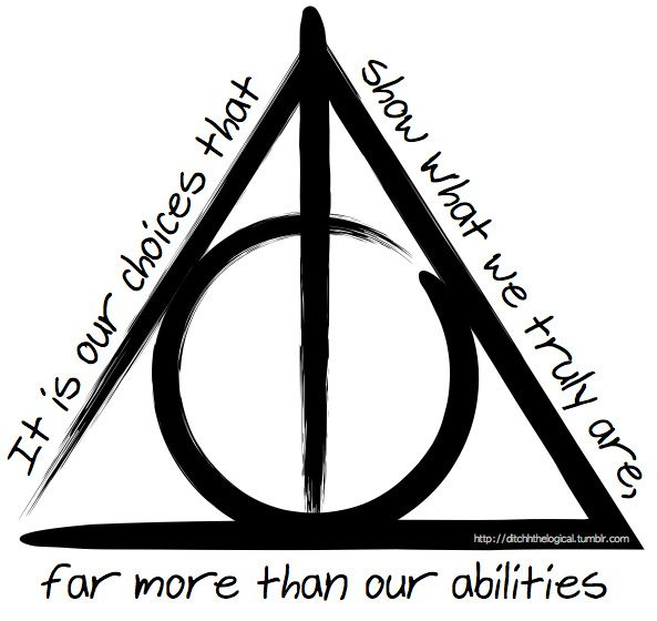 25+ best ideas about Deathly Hallows Tattoo on Pinterest ...