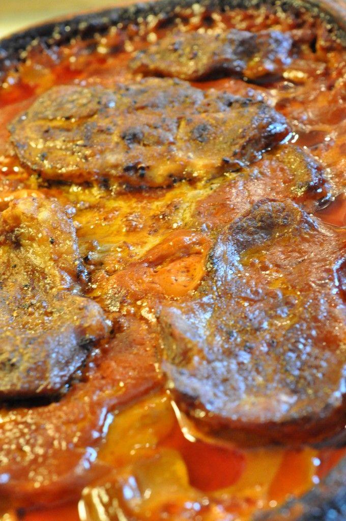 nakkekoteletter i flødesauce med tomat og persille koteletter i stegeso koteletter i rød sauce koteletter i Römertopf koteletter i paprikasauce med fløde og persille koteletter i flødesauce med tomat og persille koteletter i flødesauce koteletter i fad familiens kotelet livret  Møre koteletter i Rømertopf   koteletter i rød flødesauce