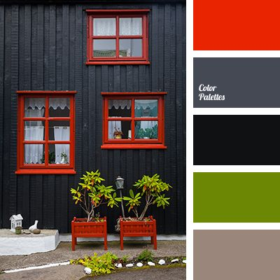 Best 25 red color schemes ideas on pinterest red color for Deep grey color