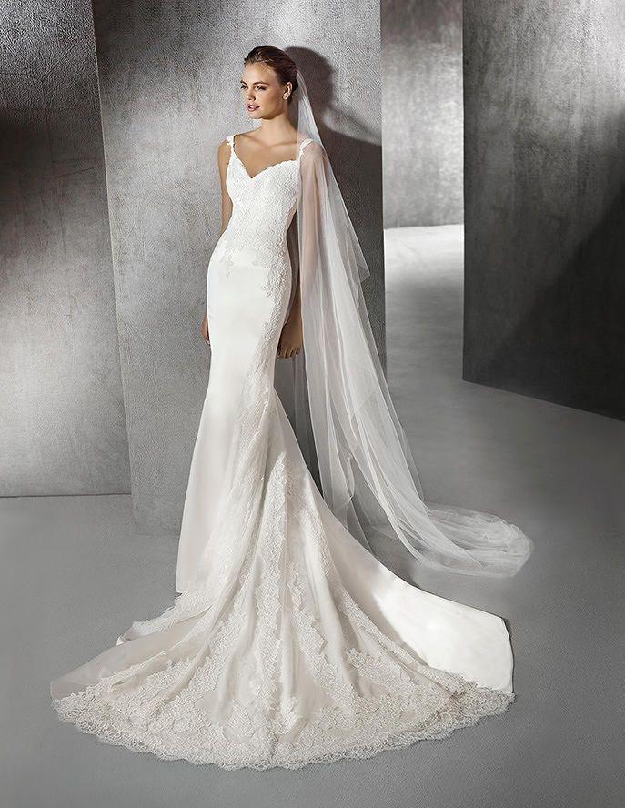 Sweetheart Neckline Mermaid Wedding Dress 2016 St. Patrick ZANETA Style