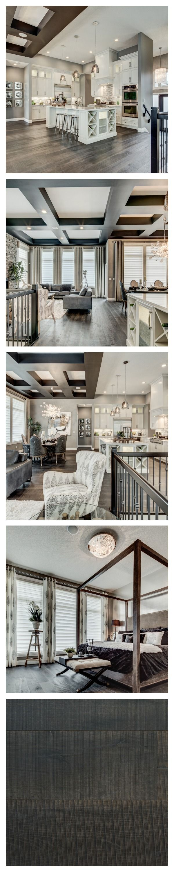 There Is A Decidedly Glamorous Edge To This Breathtaking Model Home By  Alquinn Homes In Edmonton. The Sophisticated Palette Of Greys And Creams  Adds To The ... Part 39
