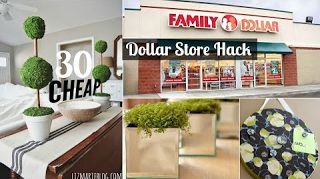30 Decor ideas from dollar store  Home Decor