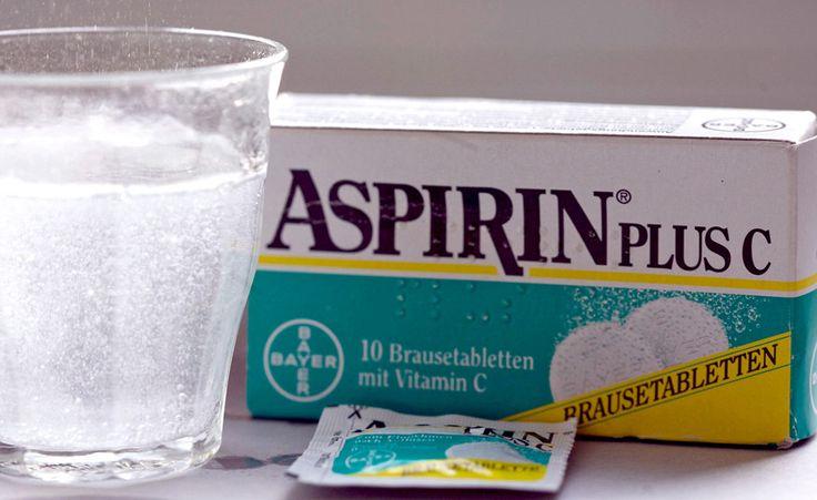 Aspirin hilft nicht nur gegen Kopfschmerzen, sondern auch gegen Deo-Flecken und Grauschleier!