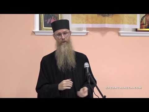 (2) Отац Арсеније ЈОВАНОВИЋ - ПРАВОСЛАВНИ БРАК И ПОРОДИЦА - YouTube