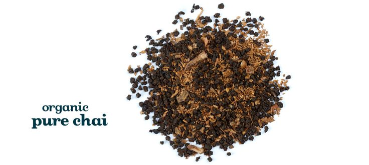 Pure Chai (Organic) - Fair Trade Black tea from India, cinnamon and cloves. With natural flavouring