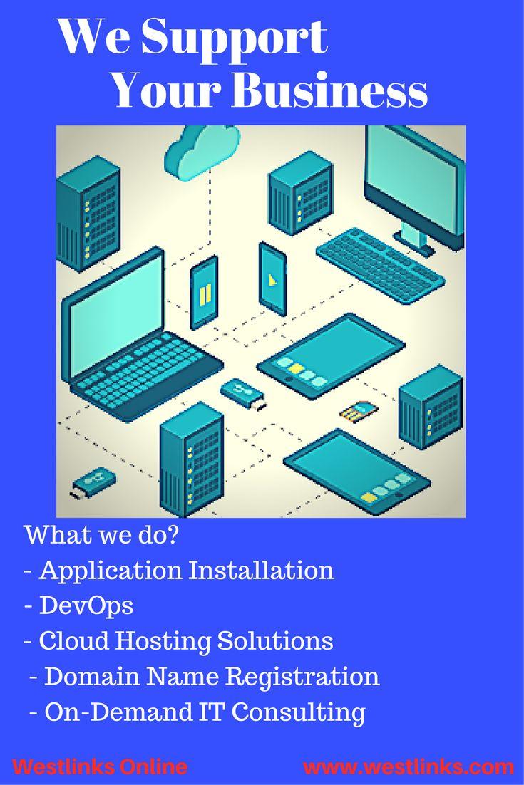 Application installation devops cloud hosting solutions