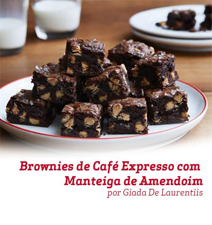 O Brownie de Café Expresso com Manteiga de Amendoim da Chef Giada de Laurentiis é uma maravilhosa combinação dos sabores que tanto amamos.