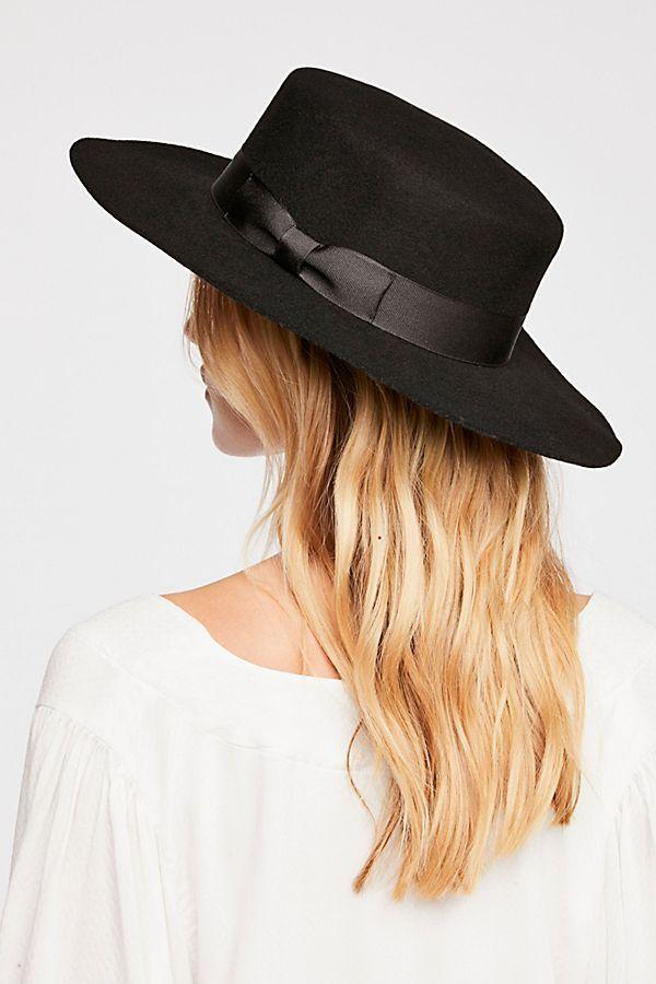 7be75bb9d24 Barcelona Felt Bolero Hat in 2019