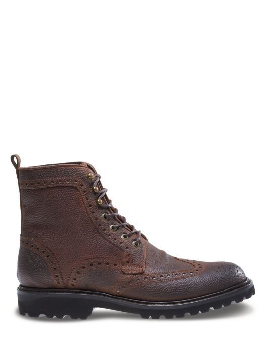 72a67aa7d9a Men's Wolverine Wingtip Percy Leather Lace Up Ankle Boots 11 msrp ...
