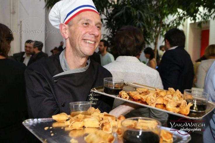 Cuisinier, traiteur, cocktail, soirée privée (Photo ©Yakawatch.com)