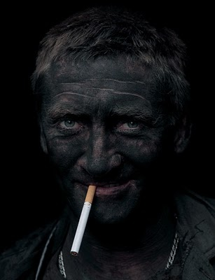 My first mission trip was to the Coal Miners in Virginia.... I've seen this face