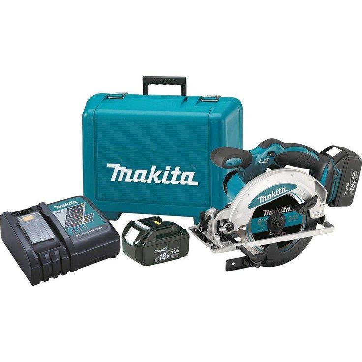 Makita 18-Volt LXT Lithium-Ion 6-1/2 in. Cordless Circular Saw Kit