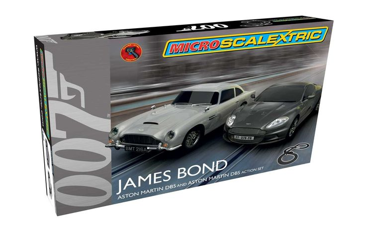 Micro Scalextric James Bond - Available November 2015