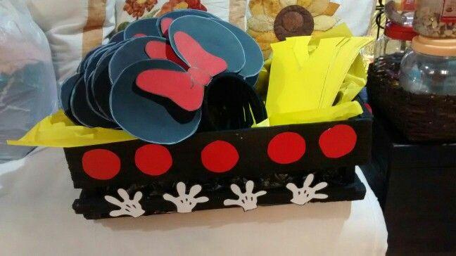 Caja de balacas y corbatas