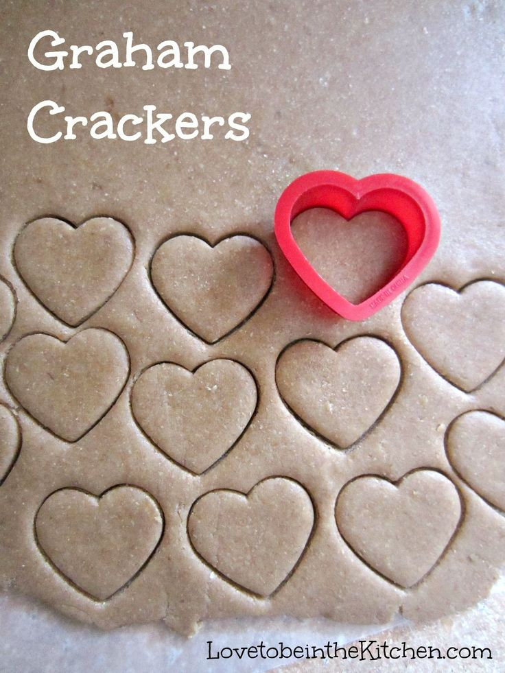 Homemade Graham Crackers! So easy and fun to make!