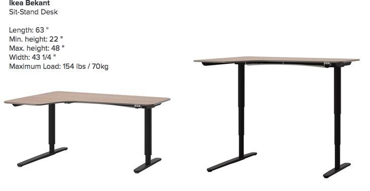 13 best ikea standing desks images on pinterest desks ikea music stand and standing desks. Black Bedroom Furniture Sets. Home Design Ideas
